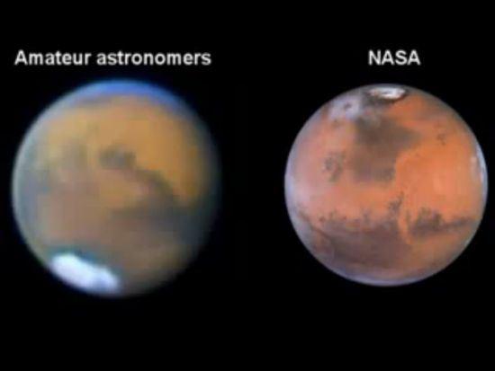 La nasa manomette i veri colori di marte 24 settembre - Immagine di terra a colori ...